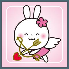 恋する♥️花うさちゃん