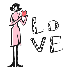 Woman R LOVE【英語 English】