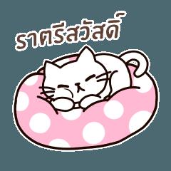 [LINEスタンプ] 感謝の毎日 タイ語