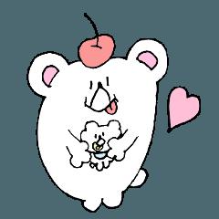 南国シロクマのサクマさん2