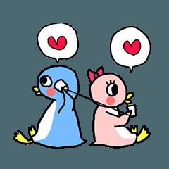 ペンギン達は愛を囁く