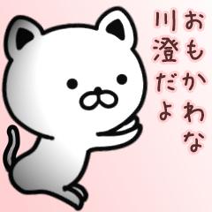 川澄さん専用面白可愛い名前スタンプ
