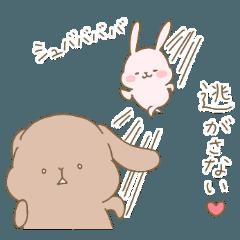 おもちうさぎの【愛情重ためセット】