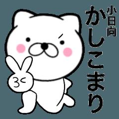 【小日向】が使う主婦が作ったデカ文字ネコ