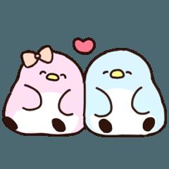 [LINEスタンプ] 恋するペンギン (1)