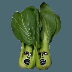 [LINEスタンプ] 怖い野菜