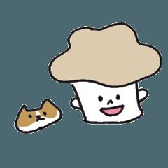 ある女の子と猫