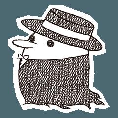 帽子の生物たち