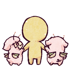 """""""羊セミ""""スタンプ、番外編!【3】"""
