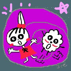Tellas's fancy Ringo-chan & Puppu 01