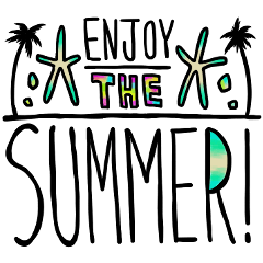 SUMMER's sticker!!!