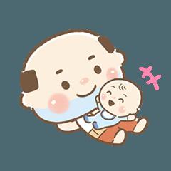 ちっちゃいおっさん(子育てスタンプ編 2)