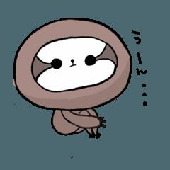 珍獣生獣(ナマケモノ)