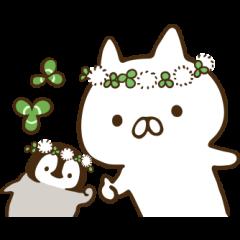 ねこぺん日和(春の日)