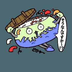 岩手県釜石市非公認キャラクター!かまぴ〜