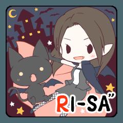 """RI-SA""""groupスタンプ"""