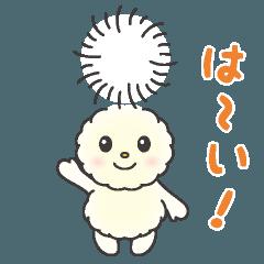 ふわわ~♪ 朝霞市キャラクタースタンプ
