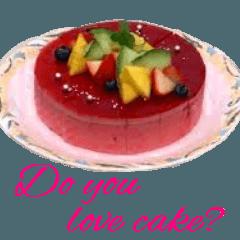 かわいいケーキスタンプ4