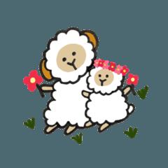 羊の親子 その2